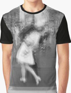 Sailor Kissing Woman Graphic T-Shirt