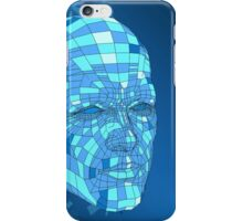 Blue android iPhone Case/Skin