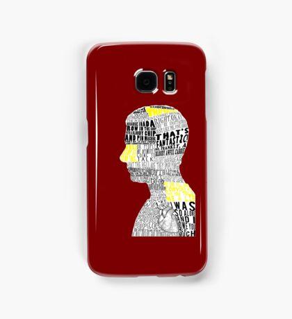 John Watson Typography Art Samsung Galaxy Case/Skin