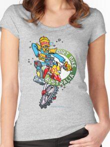 Dirt Bike Australia T1 Women's Fitted Scoop T-Shirt