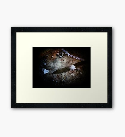 Plenty More Fish in the Sea Framed Print