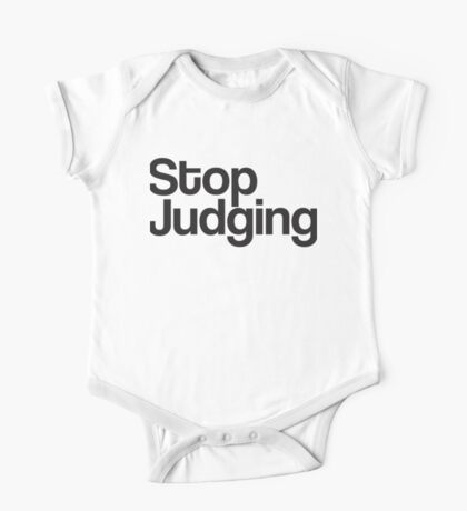 Stop Judging One Piece - Short Sleeve