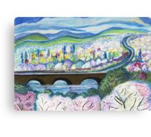 Free Bridge Spring Canvas Print