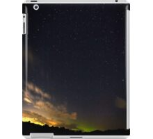 Minimal Northern Lights iPad Case/Skin