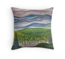 July Sunrise Throw Pillow