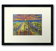 Road to Schuyler Framed Print