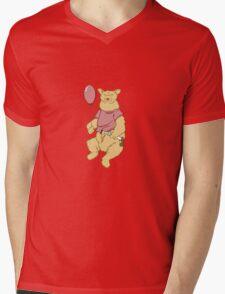 Silly Old Bear Mens V-Neck T-Shirt