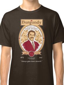 Burgundy Scotch Classic T-Shirt