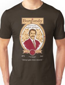 Burgundy Scotch Unisex T-Shirt