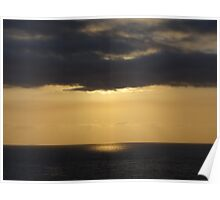 Silver and Gold - Plata y Oro: Sunset - Puesta del Sol Poster