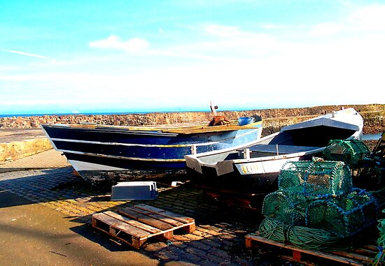 Fishing Boats in Pittenweem by ©The Creative  Minds