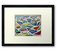 Landscape Land Framed Print