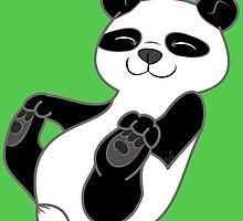 Panda Bear Cub by Grifynne