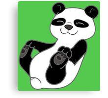 Panda Bear Cub Canvas Print