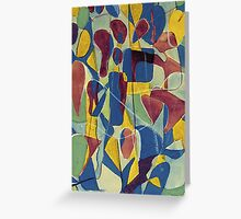Early Abstract Greeting Card