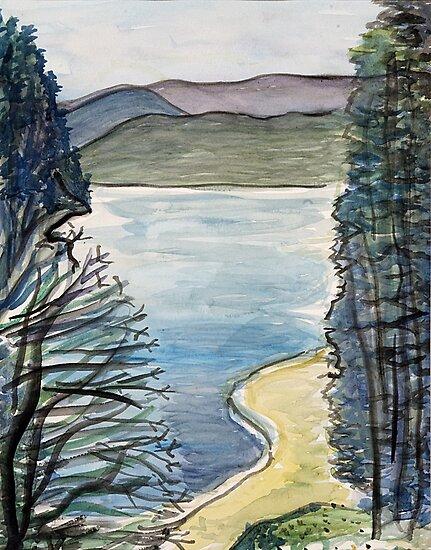 Mountain Lake by lorikonkle