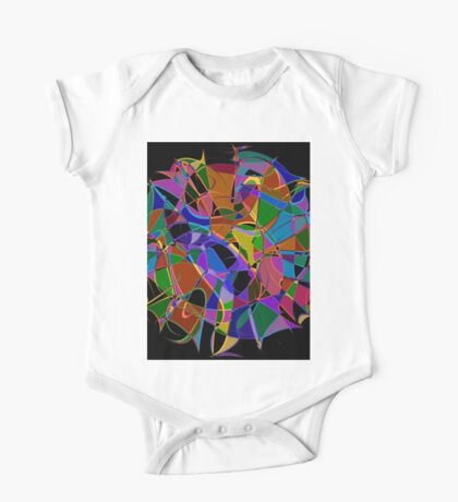 1002 Abstract Thought One Piece - Short Sleeve