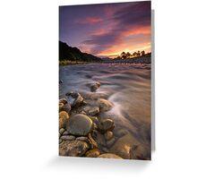 Hutt River Lenticular Clouds Greeting Card