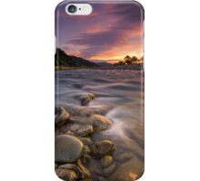 Hutt River Lenticular Clouds iPhone Case/Skin