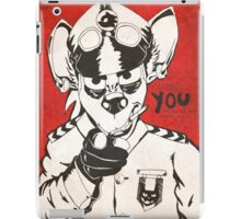 I Want You - Shiranui iPad Case/Skin