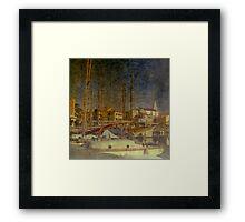 Impressions of Izola Framed Print