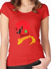 Protoman Helmet Shirt Women's Fitted Scoop T-Shirt