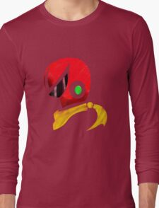 Protoman Helmet Shirt Long Sleeve T-Shirt