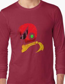 Protoman Helmet Shirt Long Sleeve T-Shirt