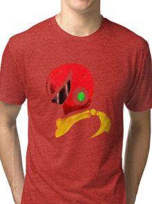 Protoman Helmet Shirt Tri-blend T-Shirt