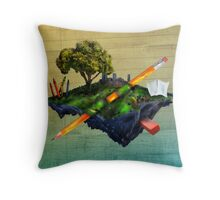 Surreal World Throw Pillow