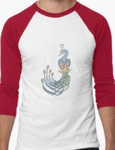 Celtic Peacock Men's Baseball ¾ T-Shirt