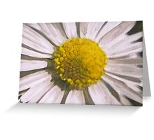 Daisy Watercolour Composition Greeting Card