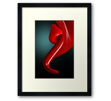 Tongue Play Framed Print