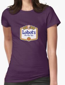 Lobot's Cloud City Lager Womens Fitted T-Shirt