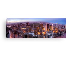 Overlooking Central Park Canvas Print