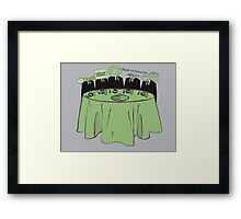 Corporations Are People Framed Print