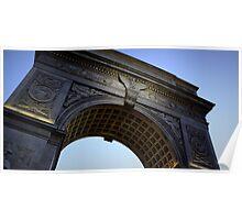 Washington Square Park Arch - Angular Crop Poster