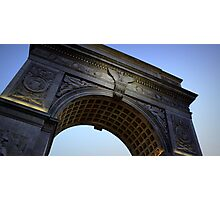 Washington Square Park Arch - Angular Crop Photographic Print