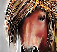 Flicka, featured in Group-Gallery of Art and Photography, Art Universe by Françoise  Dugourd-Caput