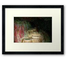 HOLY WELL. Framed Print