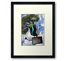 jerico surreal project Framed Print
