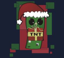 Minecraft Christmas Creeper  Kids Clothes