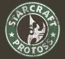 Starcraft Protoss - Washed Starbucks style  by Wipi Oly