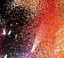 Paramore confetti at Leeds Festival by Tash Bandicoot