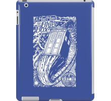 A Mad Man and His Blue Box iPad Case/Skin
