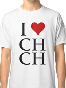 I Love Christchurch Classic T-Shirt