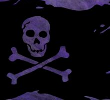 Pirate flag 44 by Chandra Nyleen Sticker