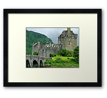Highland Castle Framed Print