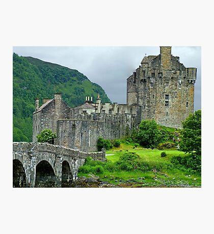 Highland Castle Photographic Print