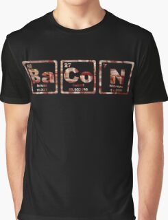 Bacon - Periodic Table - Photograph Graphic T-Shirt